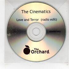 (FU394) The Cinematics, Love And Terror - DJ CD