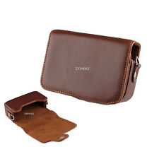 PU leather Camera Case For Canon Powershot SX230 HS SX240 HS SX260 HS SX270 HS