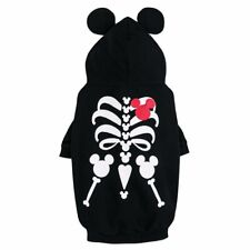 Disney Authentic Mickey Mouse Skeleton Glowing Dog Pet Costume Size S M L XL