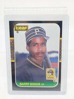 Barry Bonds 1987 Leaf RC #219 Pittsburgh Pirates