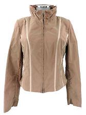 Beate Heymann Jacke 36 beige rosé Kunstfaser outdoor indoor  wie neu