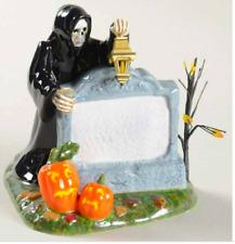 "Dept 56 Halloween Landscape - Halloween Village Sign 53044 "" Personalize"" - New"