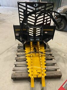 New Danuser Intimidator Tree and Post Puller Skid Steer Quick Attach