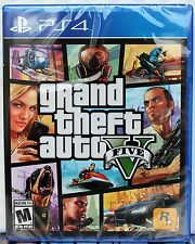 NEW✔Grand Theft Auto V 5 Five PS4, Sony PlayStation 4, 2014 Fast✈Ship/✍Tracking✔