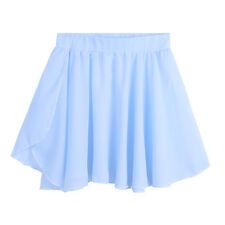 Girls Ballet Dance Dress Gymnastics Leotards with Wrap Skirt Dancewear Bodysuits