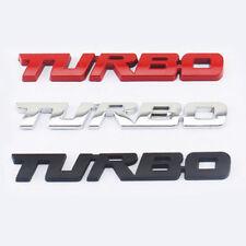 Metal Emblem Car Bumper Trunk Fender Logo Badge Chrome Turbo Diesel Sticker