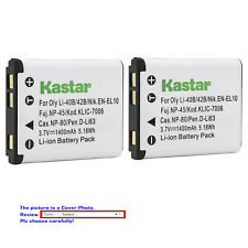 Kastar Replacement Battery for Kodak KLIC-7006 K7006 & Kodak Easyshare M552