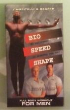 campitelli & dearth   BIO SPEED SHAPE  full body workout for men  VHS VIDEOTAPE