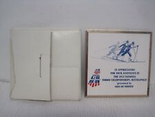 RARE 1973 US Ski Team National Nordic Championships Plaque-Sons of Norway
