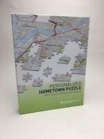 Personalized Hometown Jigsaw Puzzle Map - New York City - Yonkers - MapMarketing