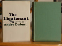The Lieutenant ~ A Novel by Andre Dubus, 1967, HC, Author's 1st, Military & War