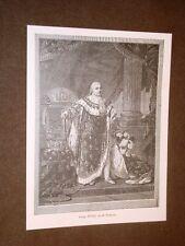 Re Luigi XVIII di Borbone Versailles 17 novembre 1755 – Parigi 16 settembre 1824