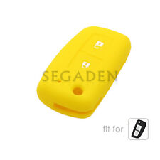 Silicone Case Cover fit for NISSAN Qashqai Juke Tiida Remote Key Fob 2 Button YL