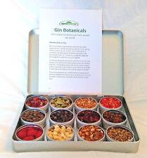 Gin Gift - 12 Gin Botanicals to infuse or garnish -  Gin gift Kit Present