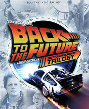 Back to the Future Trilogy (Blu-ray, 2015, 4-Disc set + Digital copy) NEW!