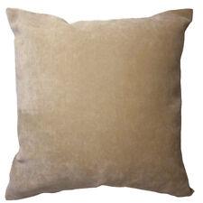 Ma05a Khaki Soft Velvet Style Cotton Blend Cushion Cover/Pillow Case*Custom Size
