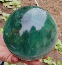3062g NATURAL green  Fluorite crystal sphere ball healing *