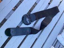 Black Elastic And Patent Belt Xl