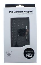CROWN Tastierino Wireless Tastiera Per PS3 CONTROLLER PLAYSTATION 3-NUOVO