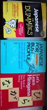 JAPANESE FOR BUSY PEOPLE/FIRST BASIC JAPANESE/JAPANESE FOR DUMMIES 3 Books NEW