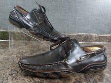 Aldo Men's Brown Leather Driving Moccassins Loafer Size 42 EU / 9 US