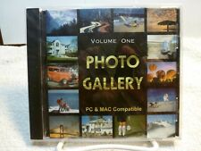 PHOTO GALLERY VOLUME ONE --  PC & MAC COMPATIBLE -- CD-ROM -- 1,500 HQ IMAGES