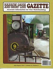 Narrow Gauge and Short Line GAZETTE: July / August 2019 -- (BRAND NEW issue)