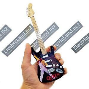 Mini Guitar 1:4 QUEEN Tribute Freddie Mercury bohemian miniature model chitarra
