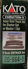 Kato # 208641 V5 Inside Loop Track Set N Mib