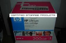 NEW 5/PK HP C7971A 100GB/200GB LTO Ultrium 1 Data Tape Cartridge