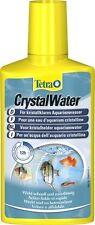 TETRA CRYSTAL WATER - 250ML - FISH TANK WATER CLEANER CLOUDY AQUARIUM TREATMENT
