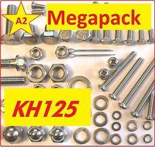 Kawasaki KH125 - Nuts / Bolts / Screw / Grade A2 Stainless MegaPack
