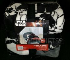 DISNEY STAR WARS THE FORCE AWAKENS PLUSH THROW BLANKET~NEW~TWIN BED COVER DECOR