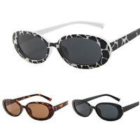 Sunglasses Women Ladies Retro Frame Oval Vintage Shades Glasses Fashion  HT Fy