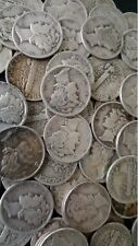 ✯ 90% Silver Mercury Dime Hoard ✯ Old U.S. Antique Money ✯ 1916-1945 ✯ 1 COIN ✯