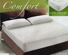 COPRIMATERASSO matrimoniale Confort 2 piazze effetto massaggio