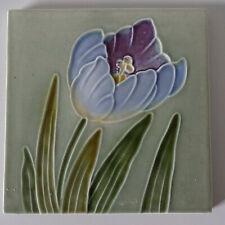 Originale Jugendstil Fliese Kachel art nouveau tile tegel Schmider