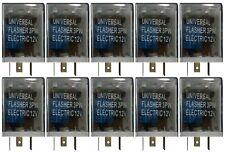 (10) Automotive Loud 3 Pin Universal LED Flasher Blinker Light Relay 12V Signal