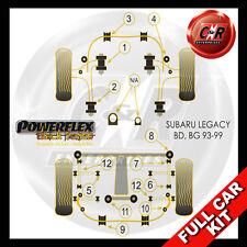 Subaru Legacy BD, BG (93-99)  Powerflex Black Complete Bush Kit