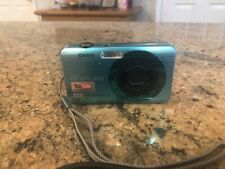 Casio Exilim Zoom Ex-Z1200 12.1Mp Digital Camera - Blue tested no charger