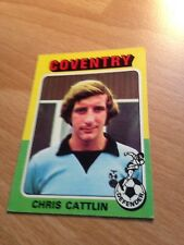 Chris Cattlin of Coventry - No: 170 - (Topps Bazooka 1975 Red/Grey Back)