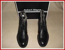 50% OFF ! Robert Wayne Men's Blaze Boots Shoes Black Color Size:13 NEW