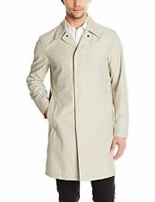 NWT $595 THEORY Varvo Button Up men's Trench Coat Puttie Sz XXL Designer