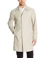 NWT $595 THEORY Varvo Button Up men's Trench Coat Puttie Sz XS Designer