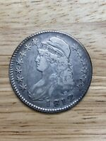 1812 Capped Bust Silver Half Dollar Coin - 9/24/20, Free Shipping