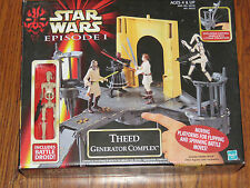 Star Wars Ep I Theed Generator Complex w/Battle Droid & Action Platforms NRFB
