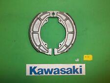 40-603 Emgo KAWASAKI STREET / DIRT BIKE REAR BRAKE SHOES 602  GROOVED an springs