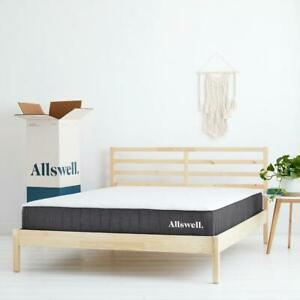 The Allswell 10 Inch Bed in a Box Hybrid Mattress - King Full Queen Twin CA King