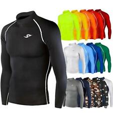 Mens Boys Youth Team Baselayer Lightweight Compression Skins Soccer Uniforms