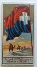 SAMOS AEGEAN GREEK ISLAND GREECE FLAG CARD